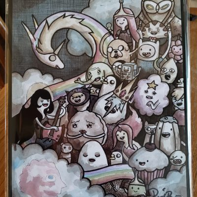 Rick And Morty 11X14 Signed Print By Patric Bates